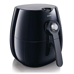 Philips HD9220/20 Air Fryer with Rapid Air Technology for Healthy Cooking, Baking and Grilling, Plastic, 1425 W, Black