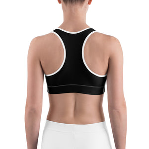 MBG Black Sports bra