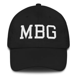 MBG Black/White Cap