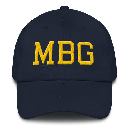 MBG Navy/Gold Cap