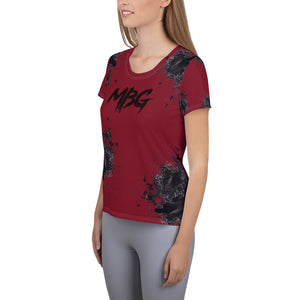 Paint Athletic Maroon T-shirt
