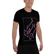 Pink Angled Athletic T-shirt