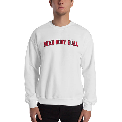 All Out White Sweatshirt