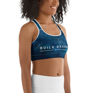 Build Dreams Washed Sports Bra