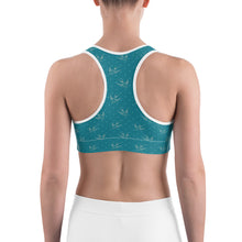 Blue Bird Sports Bra