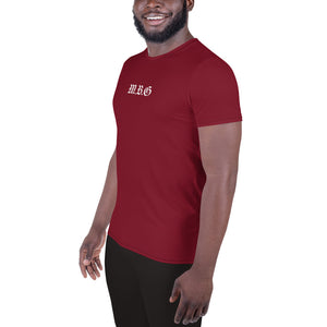 Build Dreams Maroon Athletic T-shirt