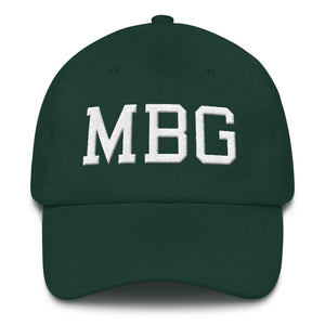 MBG Green/White Cap