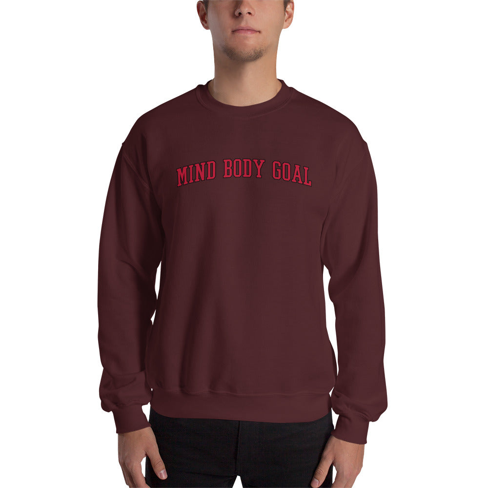All Out Maroon Sweatshirt