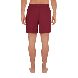 Red Athletic Long Shorts