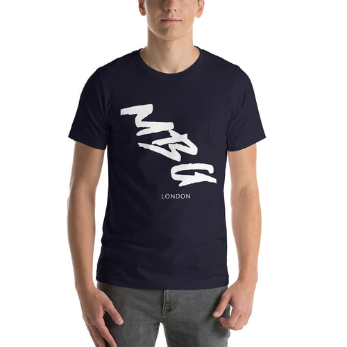Smudged Navy T-Shirt