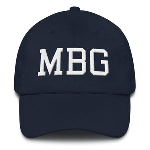 MBG Navy/White Cap