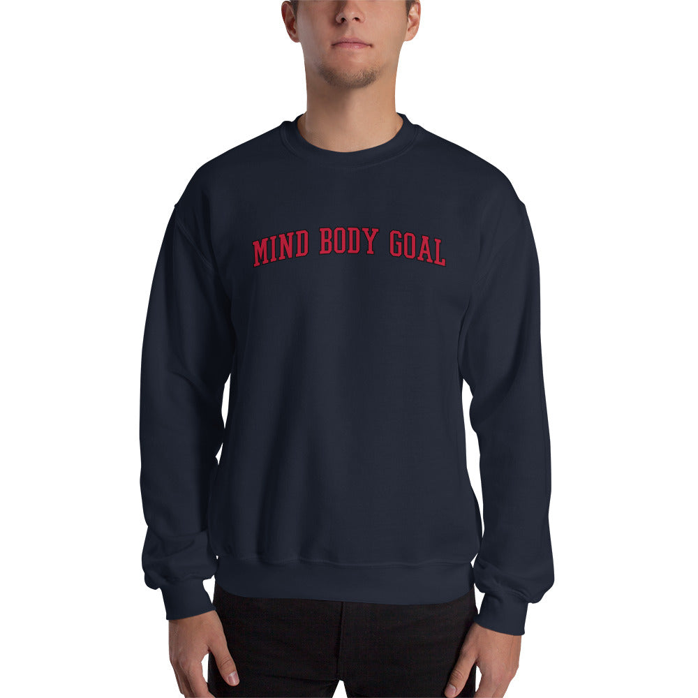 All Out Navy Sweatshirt