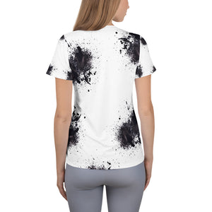 Paint Athletic White T-shirt