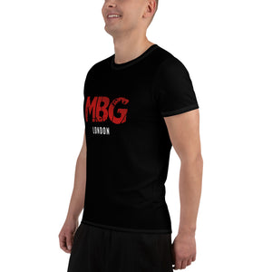 Red Block Athletic T-shirt