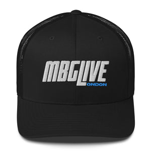 Black New Trucker Cap