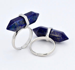 """Ollivander"" Gemstone Crystal Ring"