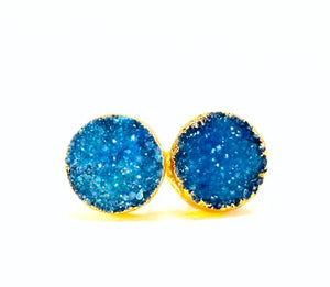 """Rock Candy"" Druzy Earrings"