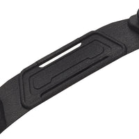 SCUBAPRO HYDROS PRO DIVE KNIFE & ACCESSORY PLATE, BLACK