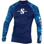 SCUBAPRO UPF 50 MEN'S LONG SLEEVE RASH GUARD