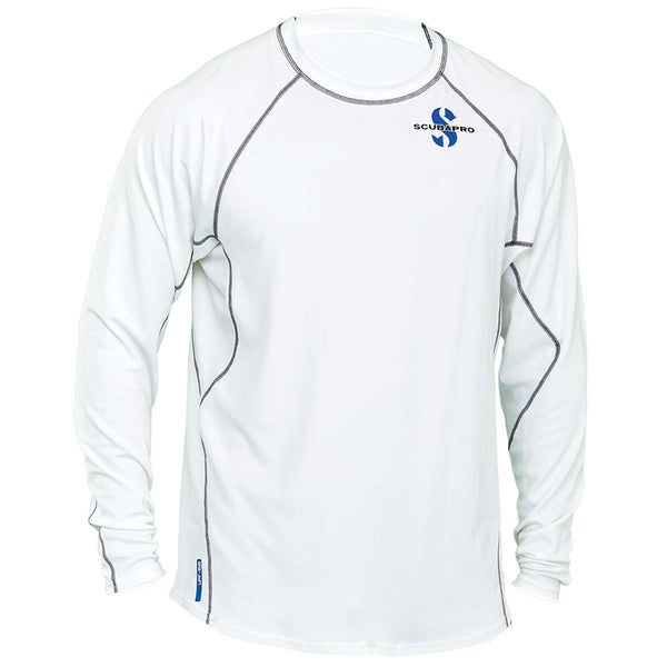 SCUBAPRO UPF 50 MEN'S LONG SLEEVE CHANNEL FLOW