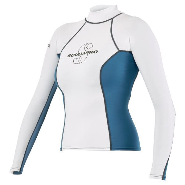 SCUBAPRO T-FLEX RASH GUARD, LONG SLEEVE, WOMEN (Discontinued Product)