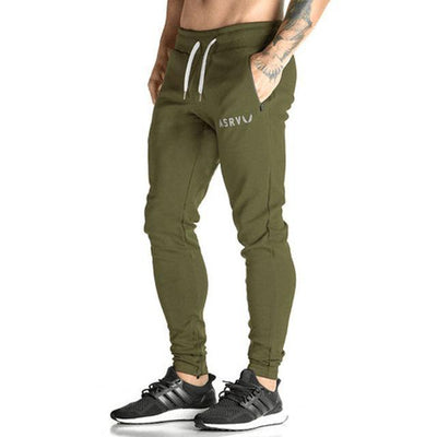 Army Green Casual Camo Joggers