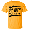 """Ban Stupid People"" Cotton T-Shirt"