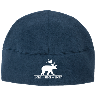"""Bear + Deer"" Fleece Beanie"
