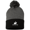 """Bear + Deer"" Pom Pom Knit Cap"