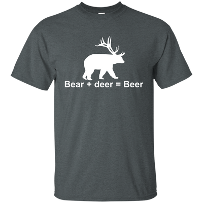 """Bear + Deer"" Ultra Cotton T-Shirt"