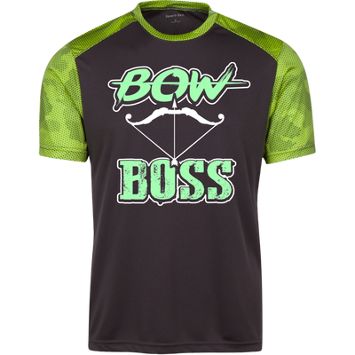 """Bow Boss"" CamoHex T-Shirt"