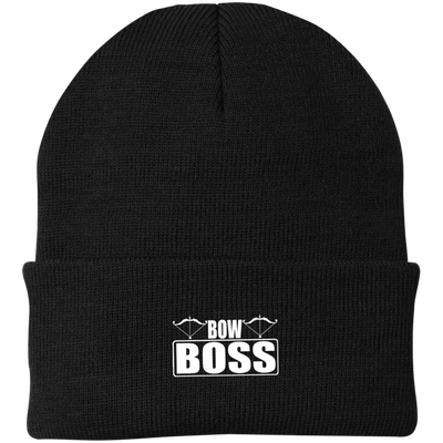 """Bow Boss"" Knit Cap"