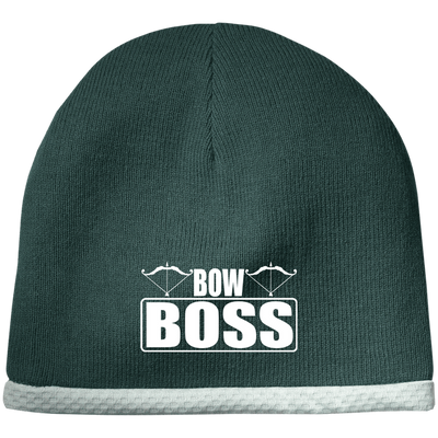"""Bow Boss"" Performance Knit Cap"