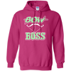 """Bow Boss"" Pullover Hoodie"
