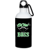 """Bow Boss""  Stainless Water Bottle"