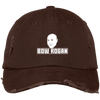 """Bow Rogan"" Distressed Dad Cap"