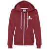"""Bow Rogan"" Ladies Hooded Fleece"