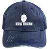 """Bow Rogan"" Unstructured Trucker Cap"