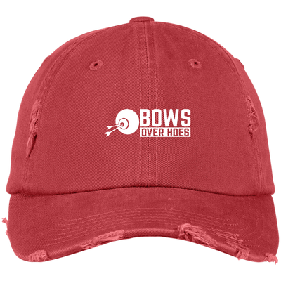 """Bows over Hoes"" Dad Cap"