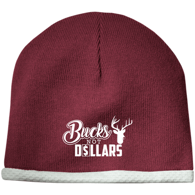 """Bucks Not Dollars"" Performance Knit Cap"