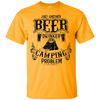 Camping Drinker Cotton T-Shirt