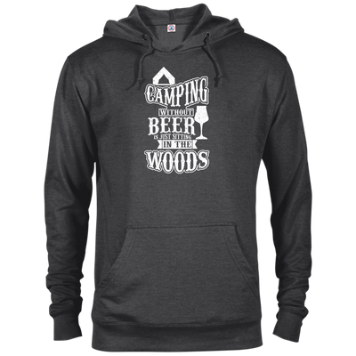 """Camping without Beer"" Terry Hoodie"