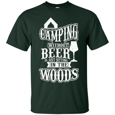 """Camping without Beer"" Ultra Cotton T-Shirt"