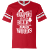 """Camping without Beer"" V-Neck Jersey"