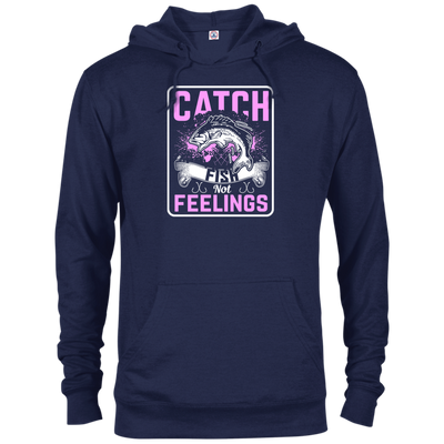 """Catch Fish"" Terry Hoodie"