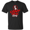 """Crazy Hunting Lady"" Cotton T-Shirt"