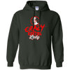 """Crazy Hunting Lady"" Pullover Hoodie"