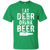 """Deer Beer"" Cotton T-Shirt"