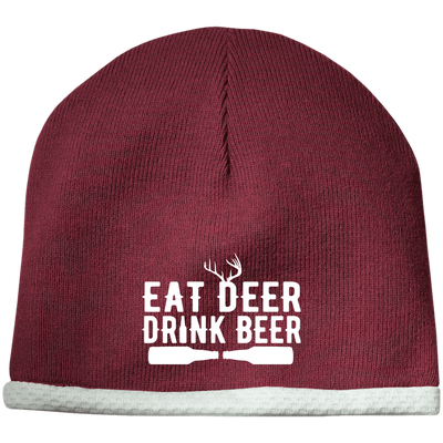 """Deer Beer"" Performance Knit Cap"