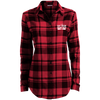 Eat Deer Ladies' Plaid Flannel Tunic